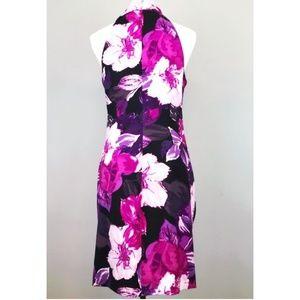 Cache Dresses - Cache purple floral dress